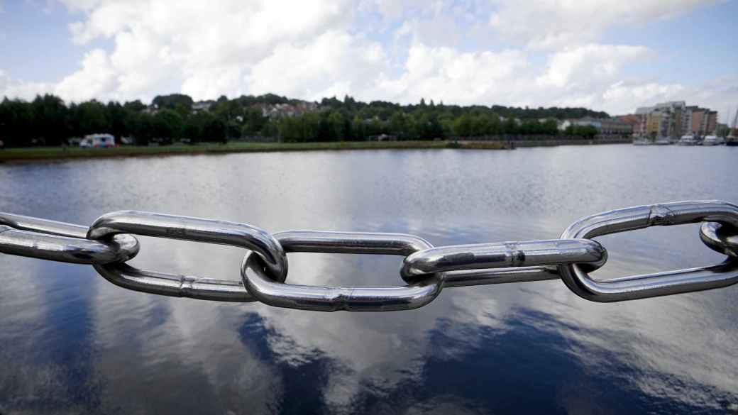 beautiful calm chain chain link