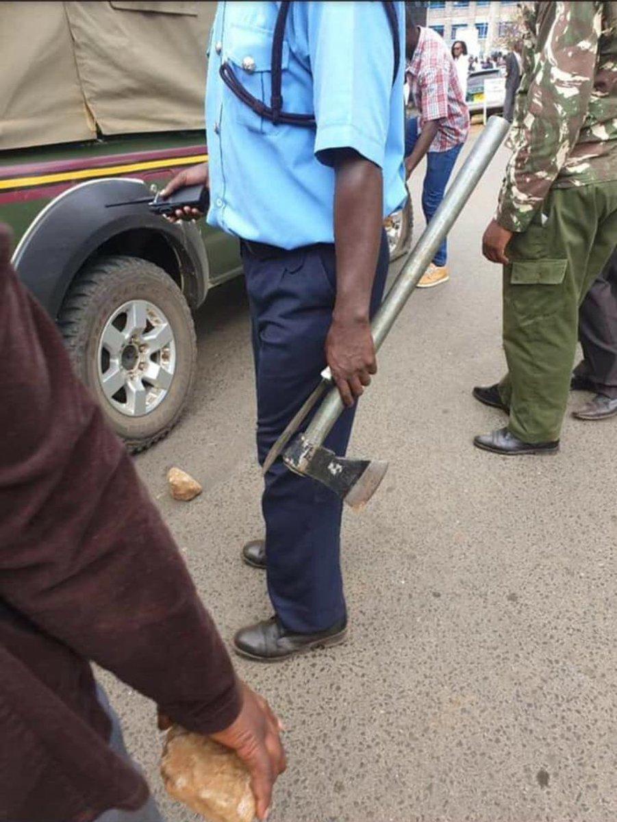 Kenya Police evidence